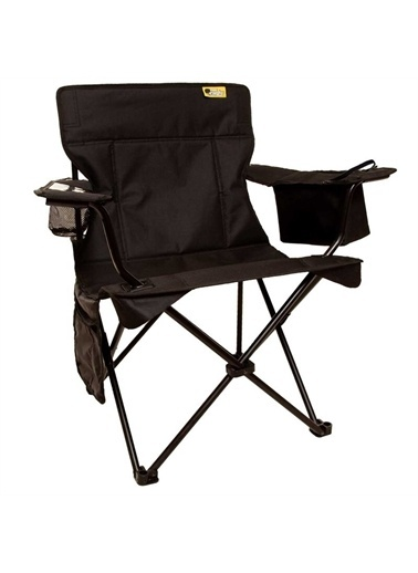Funky Chairs Funky Chairs Cool Ice Siyah Lüks Kamp Sandalyesi Siyah